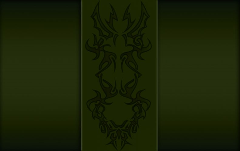 Green Fetish Totem wallpaper