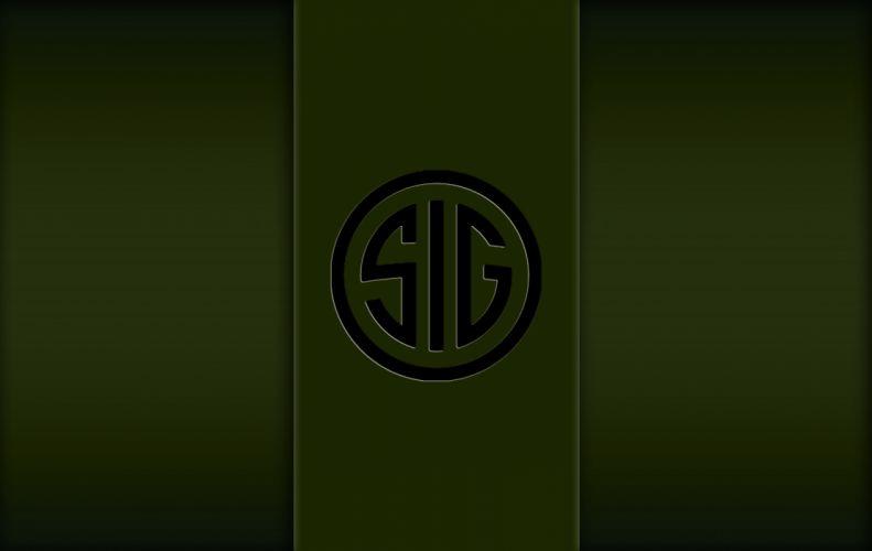Military Green SIG SAUER wallpaper