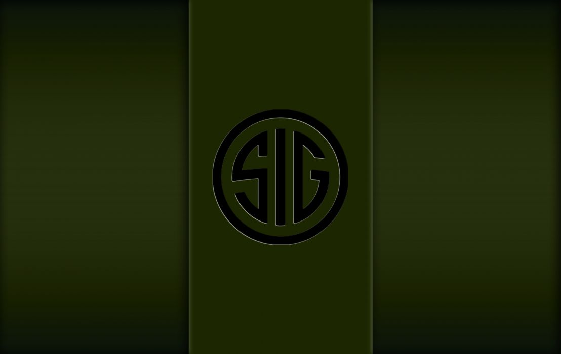 Military Green SIG SAUER Wallpaper