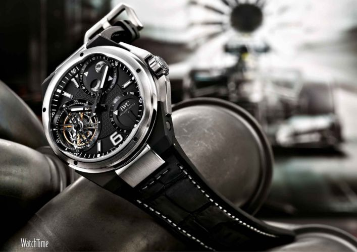 IWC Ingenieur Constant Force Tourbillon wallpaper