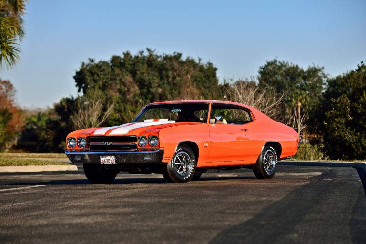 1970 Chevrolet COPO Chevelle LS6 Muscle Classic Old Original USA -01 wallpaper