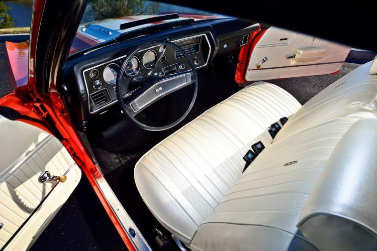 1970 Chevrolet COPO Chevelle LS6 Muscle Classic Old Original USA -04 wallpaper