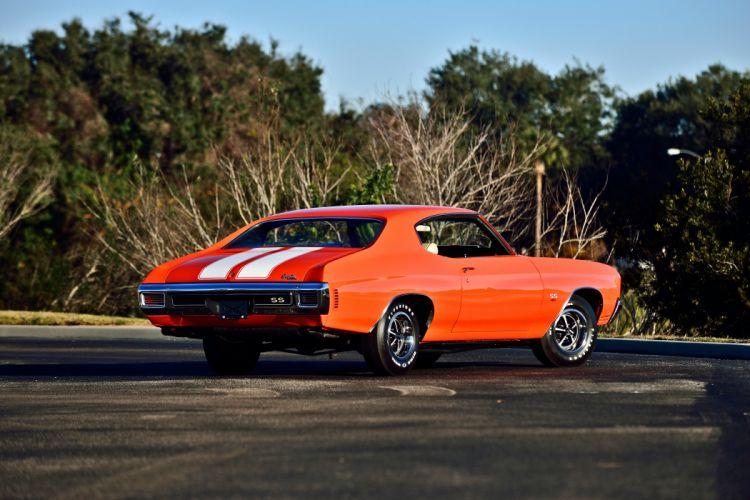 1970 Chevrolet COPO Chevelle LS6 Muscle Classic Old Original USA -03 wallpaper