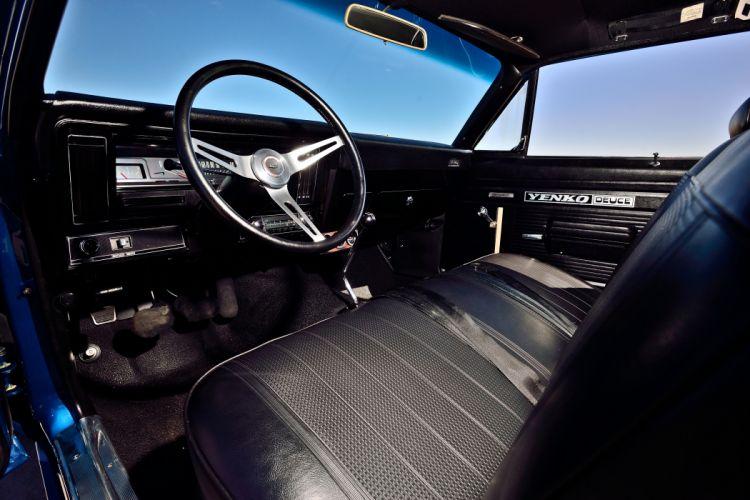 1970 Chevrolet Nova Yenko Deuce Muscle Old Classic Original USA -13 wallpaper