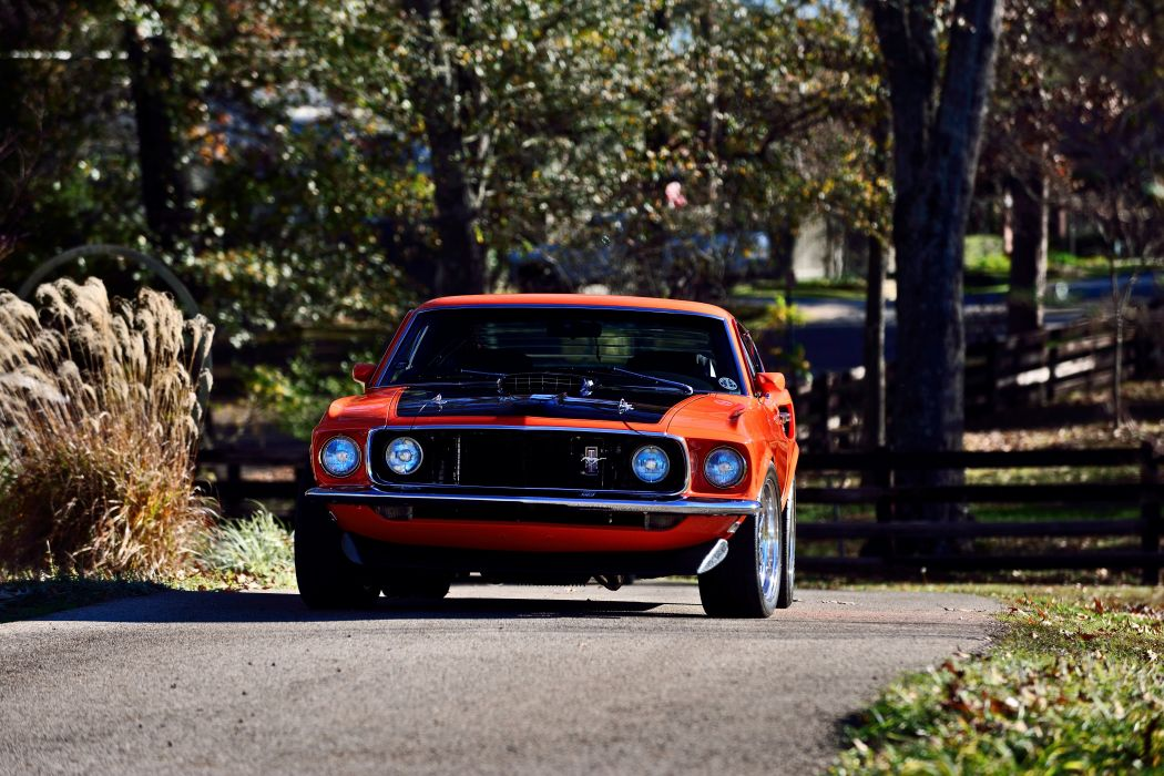 1969 Ford Mustang GT 351 Resto Mod Pro Touring Super Street Car Muscle USA -10 wallpaper