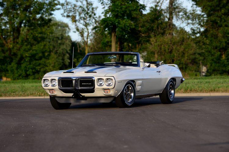 1969 Pontiac Trans-Am Convertible Muscle Classic Old Original USA -01 wallpaper