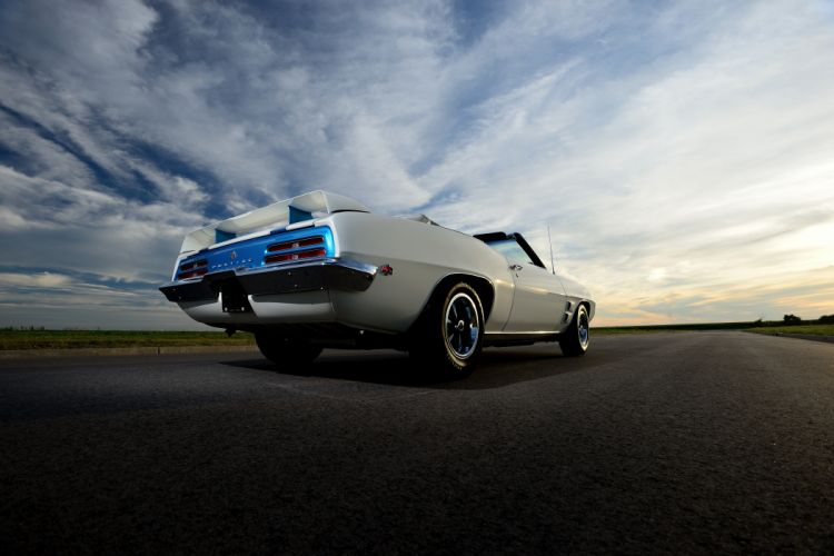 1969 Pontiac Trans-Am Convertible Muscle Classic Old Original USA -06 wallpaper