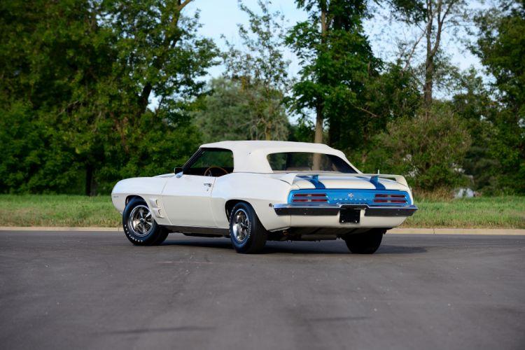 1969 Pontiac Trans-Am Convertible Muscle Classic Old Original USA -07 wallpaper