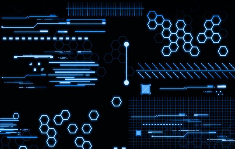 Abstract Tech IV wallpaper