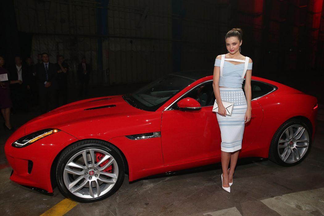 Women & Machines girls-women-sexy-sensual-model-car-jaguar-red wallpaper