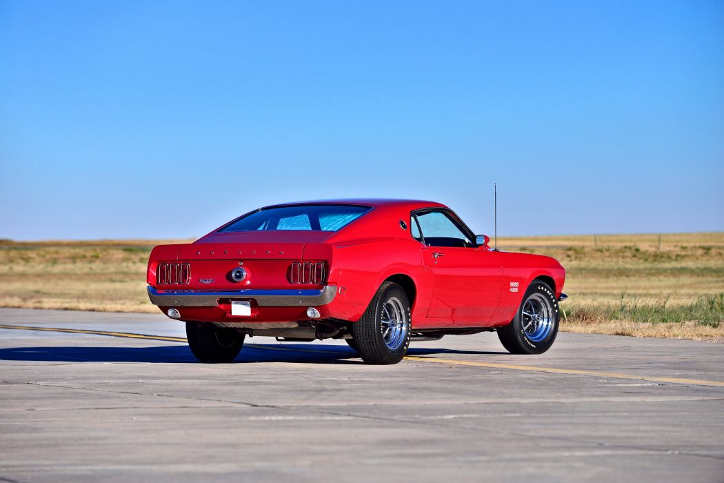 1969 Ford Mustang Boss 429 Fastback Muscle Old Classic Original USA -03 wallpaper