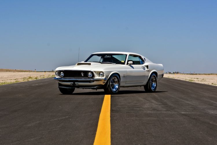 1969 Ford Mustang Boss 429 Fastback Muscle Old Classic Original USA -10 wallpaper