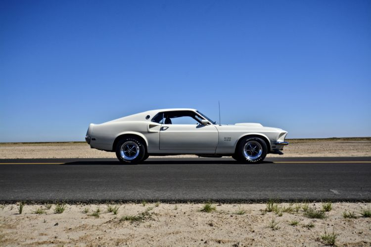 1969 Ford Mustang Boss 429 Fastback Muscle Old Classic Original USA -11 wallpaper