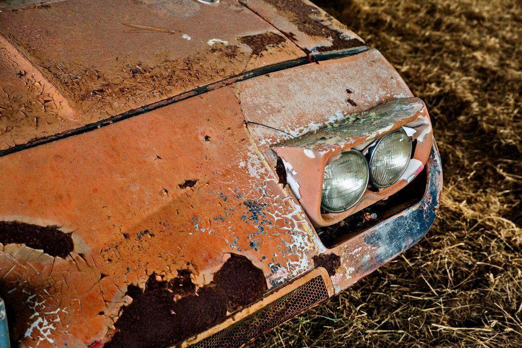 1969 Dodger Daytona Rusty Abandoned Forgotten Junkyeard Muscle Old Classic USA -21 wallpaper