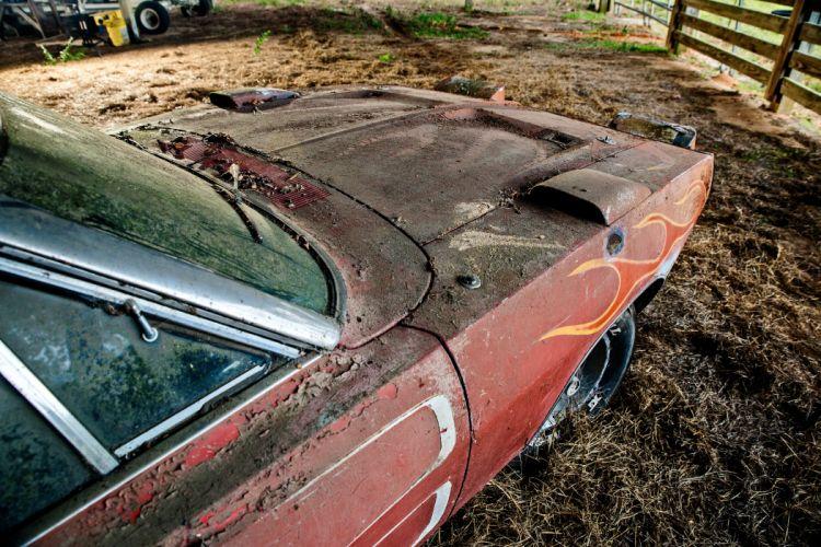 1969 Dodger Daytona Rusty Abandoned Forgotten Junkyeard Muscle Old Classic USA -22 wallpaper