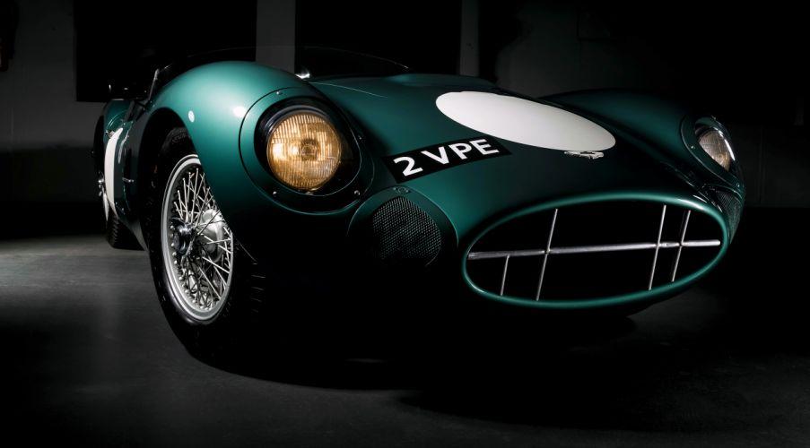 Aston Martin DBR2 Classic Race Car wallpaper
