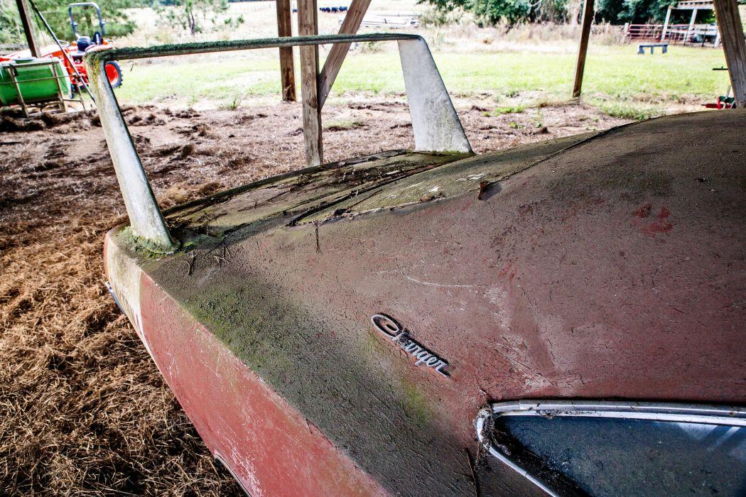 1969 Dodger Daytona Rusty Abandoned Forgotten Junkyeard Muscle Old Classic USA -50 wallpaper