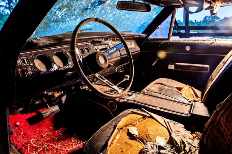 1969 Dodger Daytona Rusty Abandoned Forgotten Junkyeard Muscle Old Classic USA -59 wallpaper