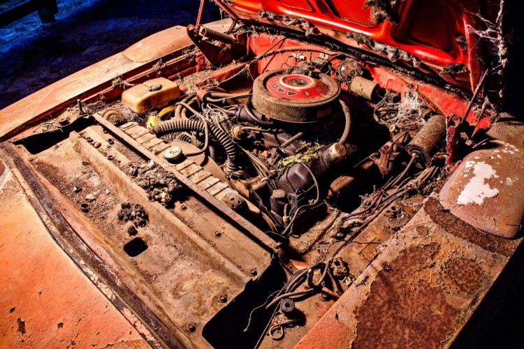 1969 Dodger Daytona Rusty Abandoned Forgotten Junkyeard Muscle Old Classic USA -62 wallpaper