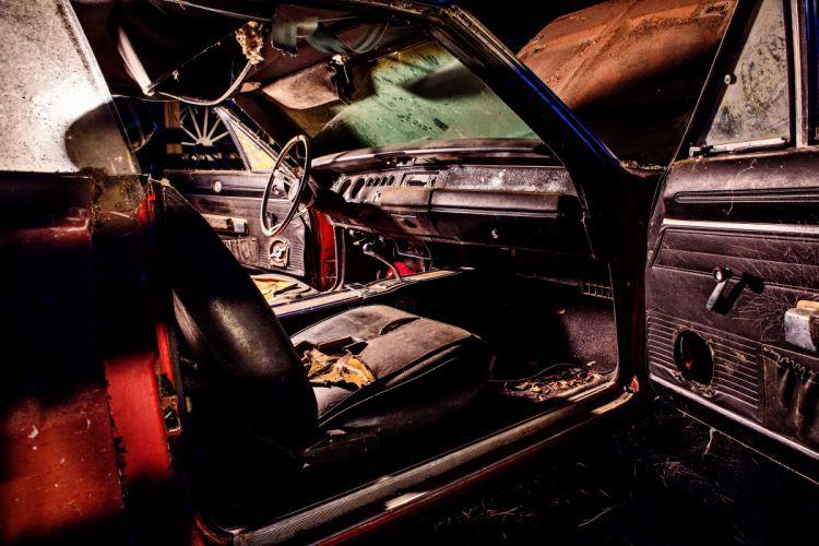 1969 Dodger Daytona Rusty Abandoned Forgotten Junkyeard Muscle Old Classic USA -64 wallpaper