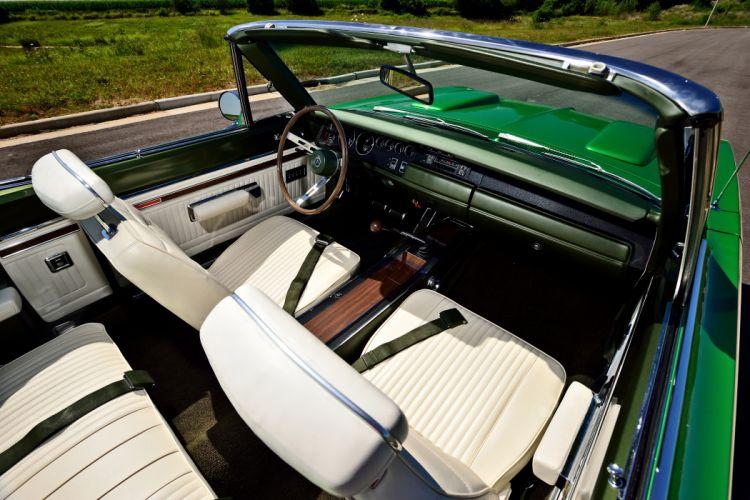 1969 Dodge Hemi Coronet RT Convertible Muscle Old Classic Original USA -04 wallpaper