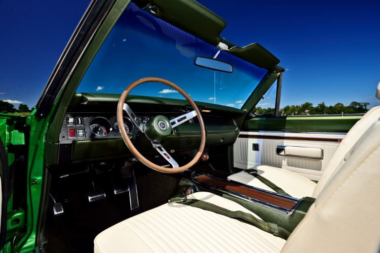 1969 Dodge Hemi Coronet RT Convertible Muscle Old Classic Original USA -03 wallpaper