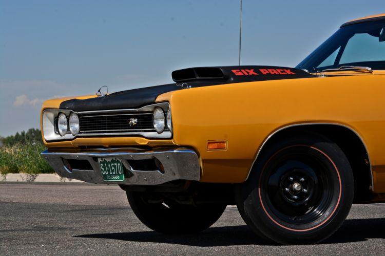 1969 Dodge Super Bee Hemi Muscle Old Classic Original USA -24 wallpaper