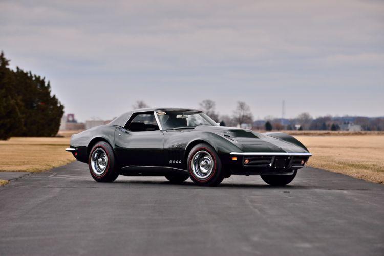 1969 Chevrolet Corvette L88 Convertible Muscle Classic Old Original USA -12 wallpaper