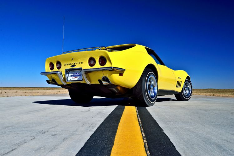 1969 Chevrolet Corvette Stingray 427 Yenko Coupe Muscle Old Classic Original USA -08 wallpaper