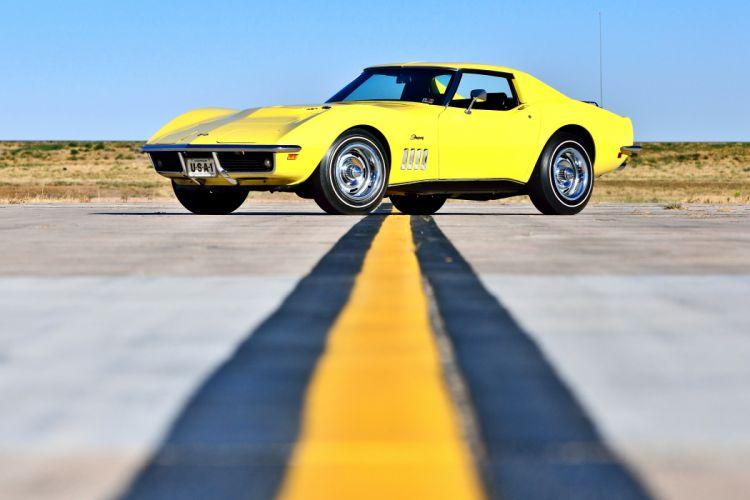 1969 Chevrolet Corvette Stingray 427 Yenko Coupe Muscle Old Classic Original USA -17 wallpaper