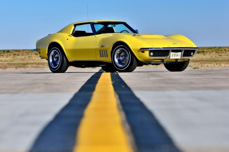 1969 Chevrolet Corvette Stingray 427 Yenko Coupe Muscle Old Classic Original USA -15 wallpaper