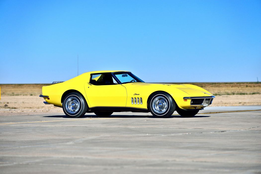 1969 Chevrolet Corvette Stingray 427 Yenko Coupe Muscle Old Classic Original USA -14 wallpaper