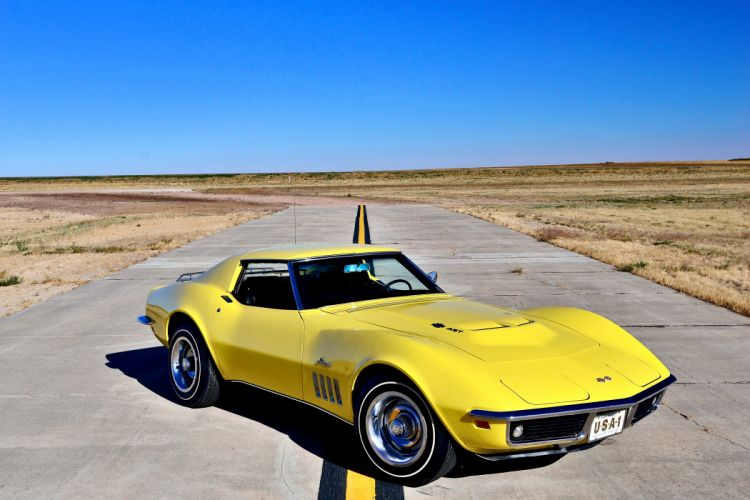 1969 Chevrolet Corvette Stingray 427 Yenko Coupe Muscle Old Classic Original USA -16 wallpaper