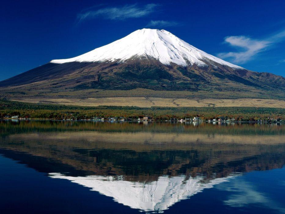 Mount Fuji Japon naturaleza wallpaper