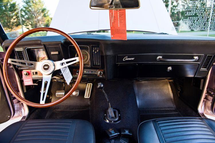1969 Chevrolet Camaro Z28 Muscle Old Classic Original USA -09 wallpaper