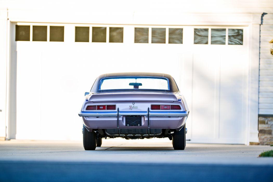 1969 Chevrolet Camaro Z28 Muscle Old Classic Original USA -14 wallpaper