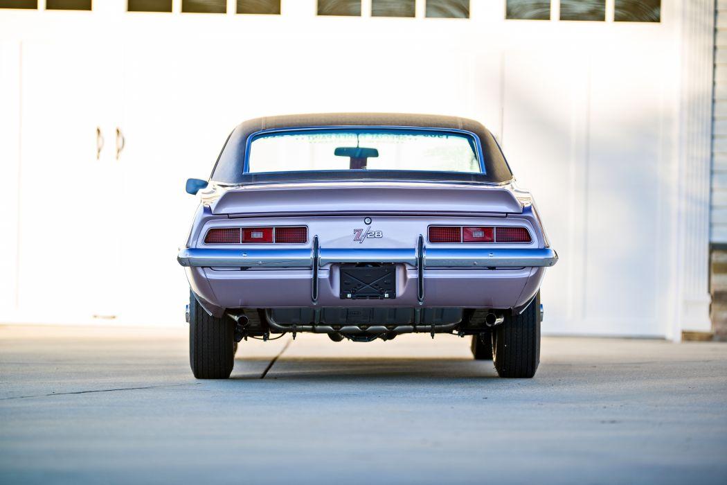 1969 Chevrolet Camaro Z28 Muscle Old Classic Original USA -15 wallpaper