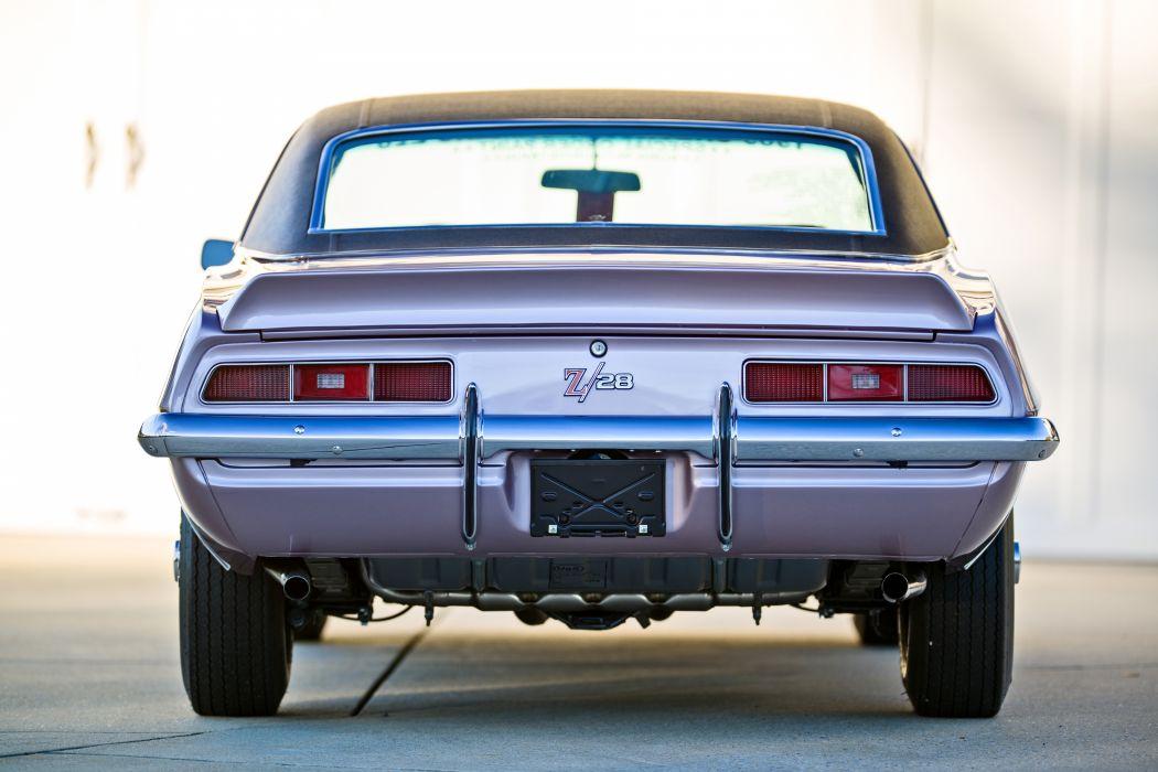 1969 Chevrolet Camaro Z28 Muscle Old Classic Original USA -16 wallpaper
