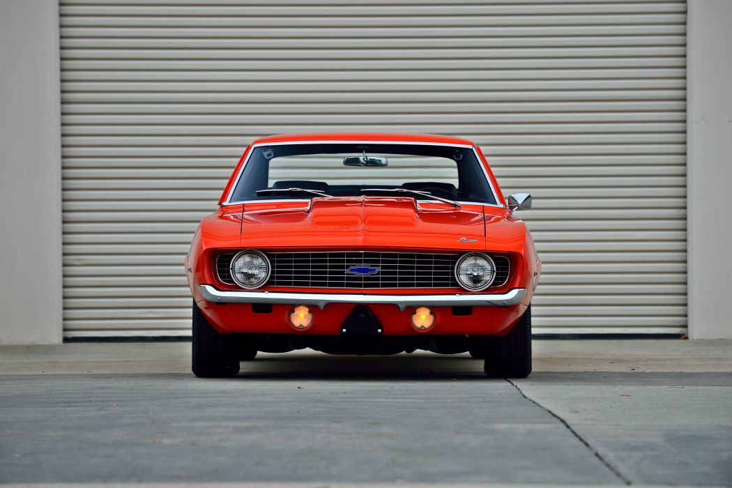 1969 Chevrolet Camaro ZL1 Muscle Old Classic Original USA -34 wallpaper