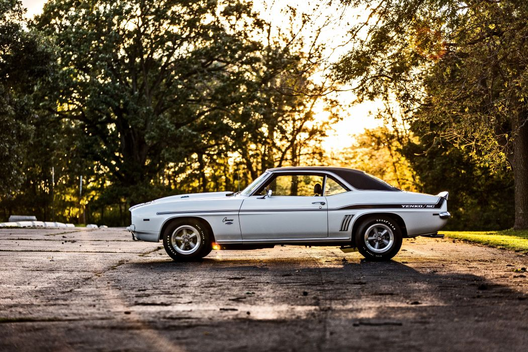 1969 Chevrolet Camaro Yenko SC 427 Muscle Old Classic USA -23 wallpaper
