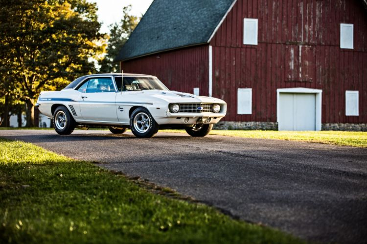 1969 Chevrolet Camaro Yenko SC 427 Muscle Old Classic USA -40 wallpaper