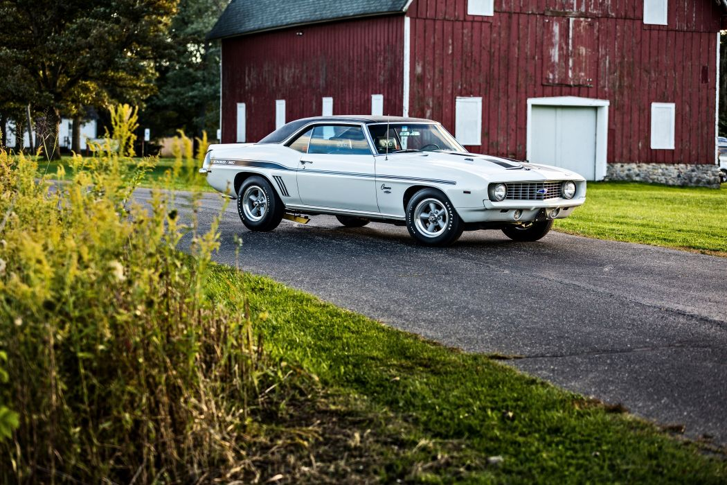 1969 Chevrolet Camaro Yenko SC 427 Muscle Old Classic USA -42 wallpaper