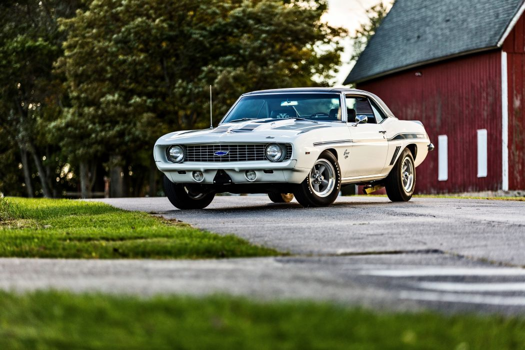 1969 Chevrolet Camaro Yenko SC 427 Muscle Old Classic USA -49 wallpaper