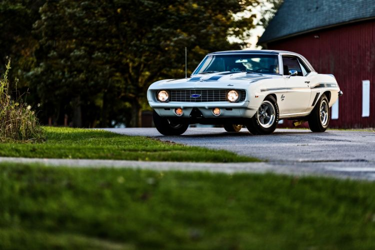1969 Chevrolet Camaro Yenko SC 427 Muscle Old Classic USA -51 wallpaper