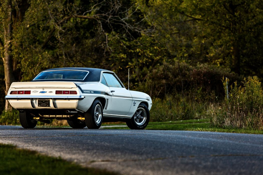 1969 Chevrolet Camaro Yenko SC 427 Muscle Old Classic USA -54 wallpaper