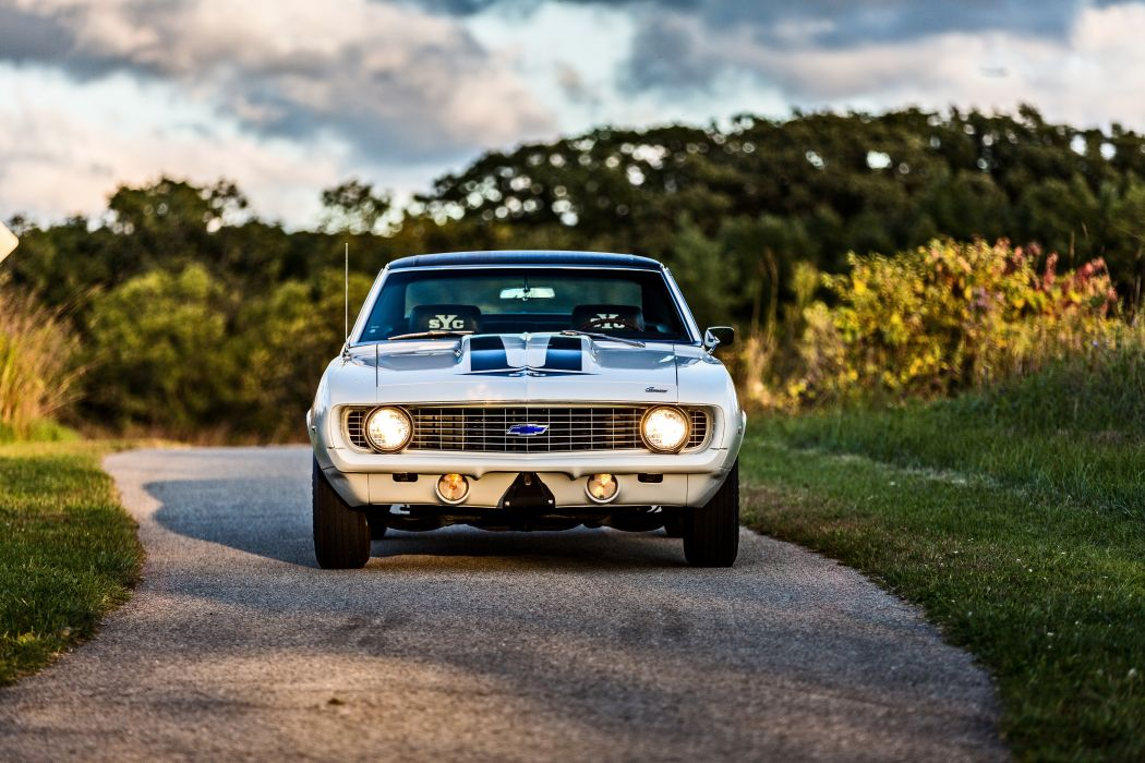 1969 Chevrolet Camaro Yenko SC 427 Muscle Old Classic USA -55 wallpaper