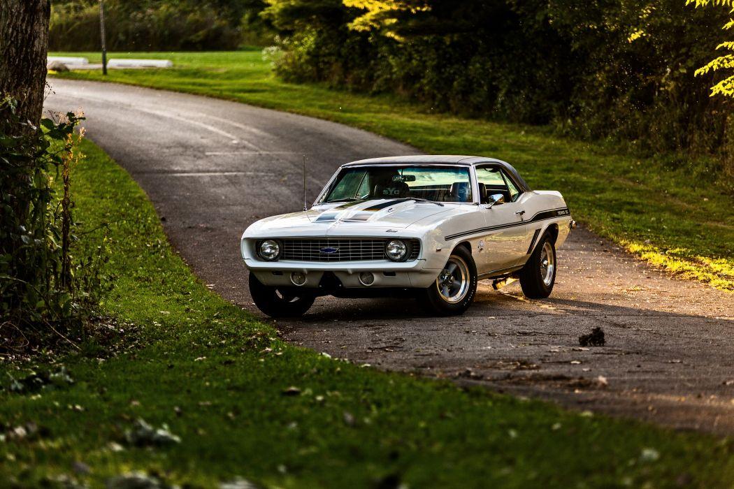 1969 Chevrolet Camaro Yenko SC 427 Muscle Old Classic USA -57 wallpaper