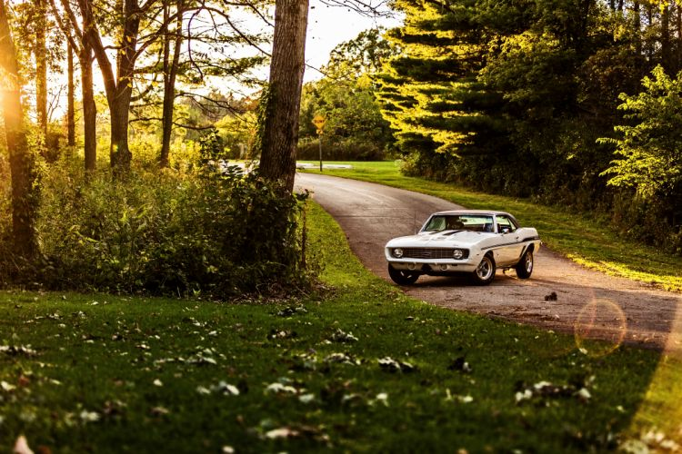 1969 Chevrolet Camaro Yenko SC 427 Muscle Old Classic USA -58 wallpaper