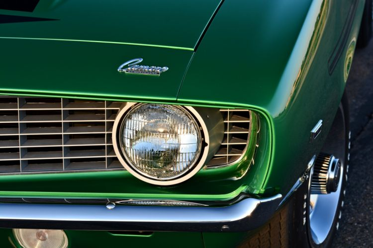 1969 Chevrolet Camaro 427 Yenko SC Muscle Old Classic Original USA -07 wallpaper