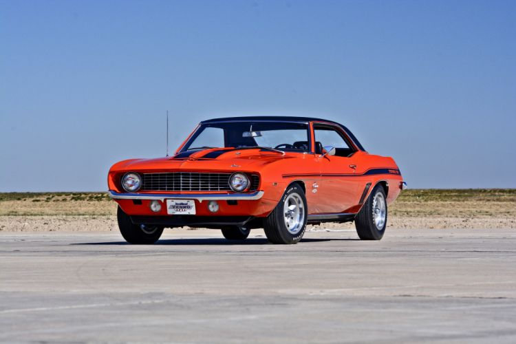 1969 Chevrolet Camaro Yenko SC 427 Muscle Old Classic USA -09 wallpaper